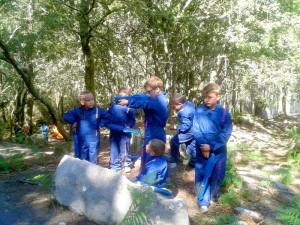 Actividades para niños en Ecoparque Atalaia- Paintball infantil