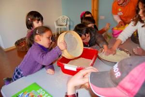 Actividades para niños- Taller sobre preparación de  alimentos en Ecogranja.