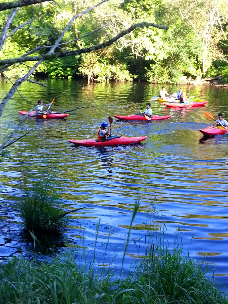 Kayak Libre en Ecoparque Atalaia en Pontevedra