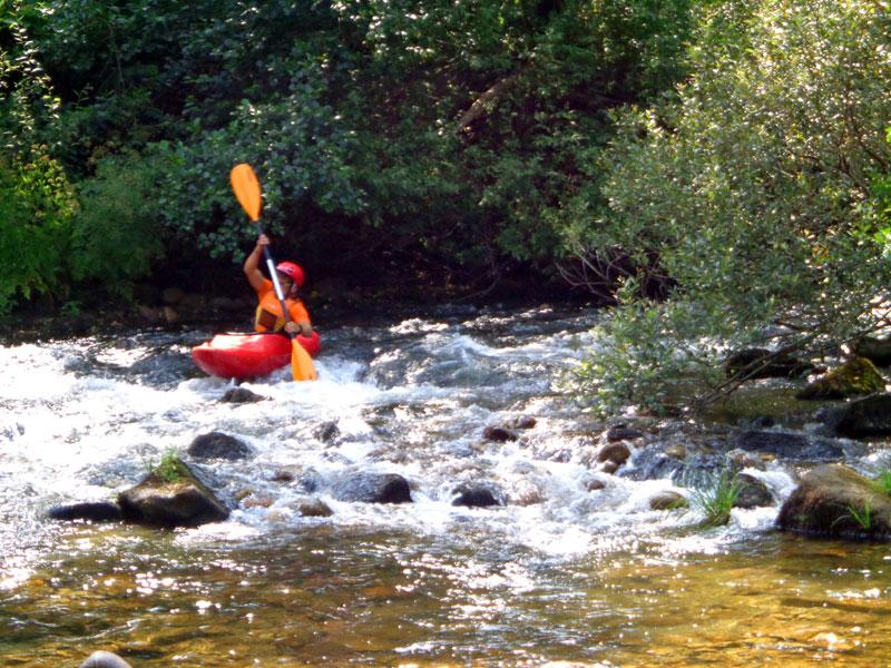 Descenso por el Río Lerez en Kayak. Ecoparque Atalaia